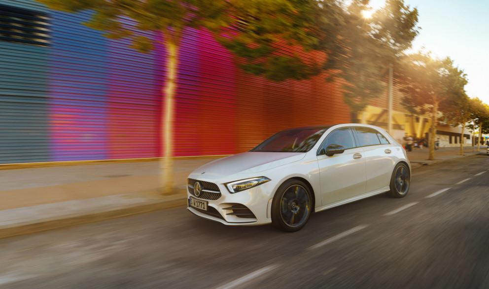 Nýr Mercedes Benz A-class hefur breyst talsvert í útliti